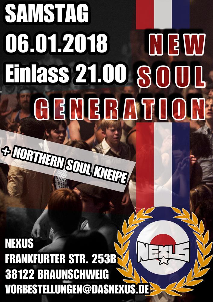 New Soul Generation Flyer
